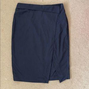 Zara blue pencil skirt